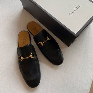 GUCCI slip on loafers